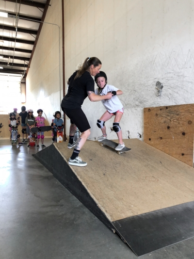 LITTLE MISS SKATE CAMPS